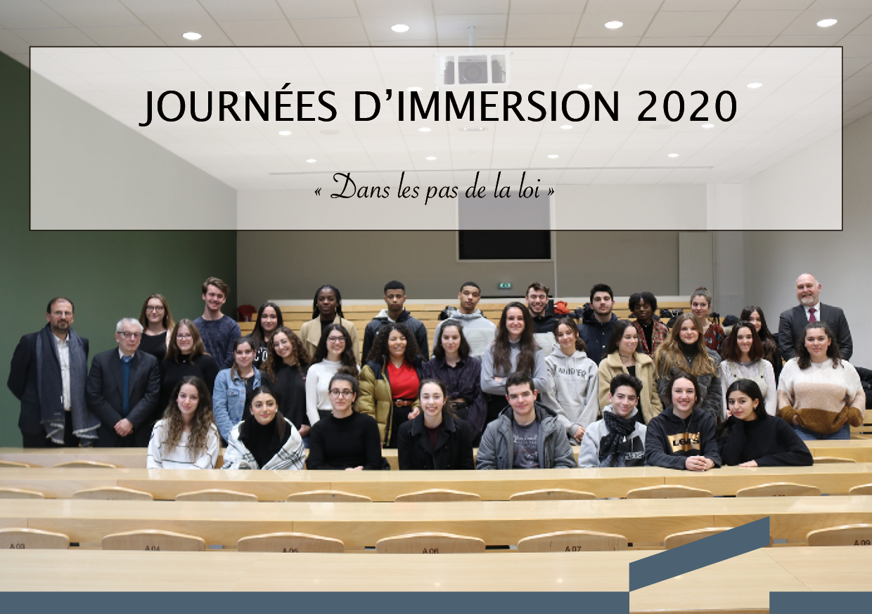 Journées d'immersion 2020