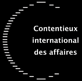 LLM Contentieux international des affaires - logo