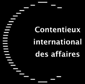 Contentieux international des affaires - logo