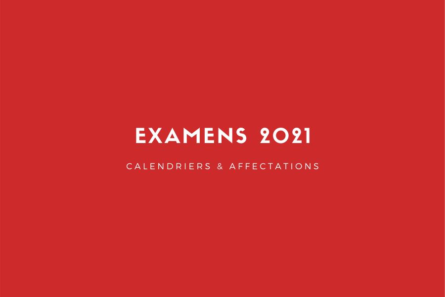 Examens 2021